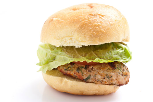 Slider burger.