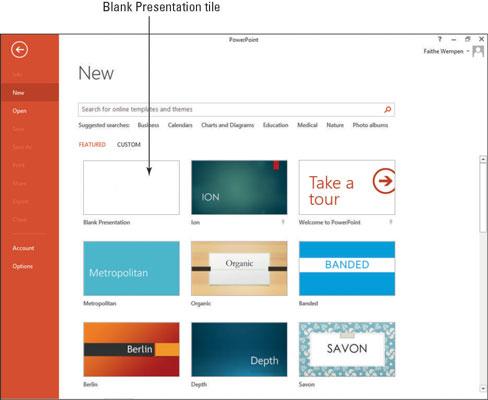Blank Powerpoint Template from www.dummies.com