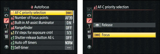 How to Change the Focus Mode Setting on Your Nikon D5300