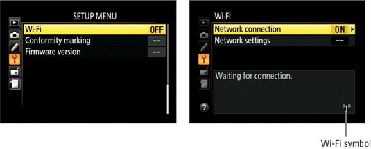 How to Connect Your Nikon D5300 to a Smart Device for Wi-Fi Transfer