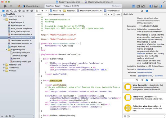 Open project in Xcode for mac.