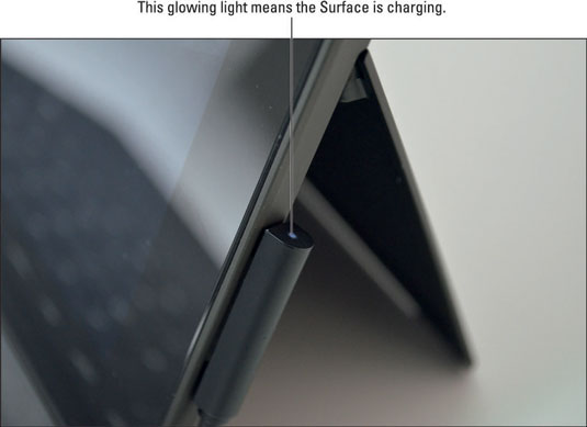 Three Quick Steps to Charge the Battery of Your Surface