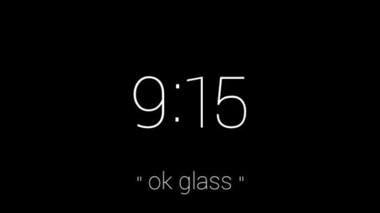 how to turn google glass on and off dummies