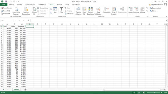 How to Rank by Percentile in Excel - dummies