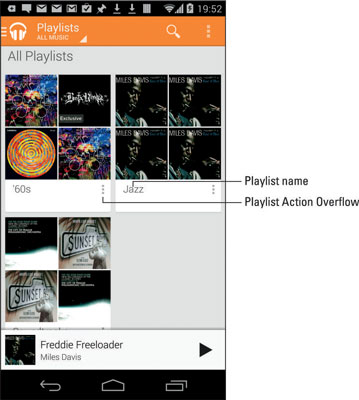 How to Organize Music on an Android Phone - dummies