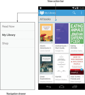 How to Read Books on an Android Phone - dummies