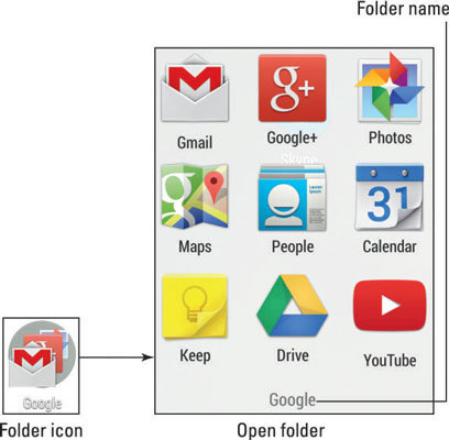 How to Build App Folders on Your Android Home Screen - dummies