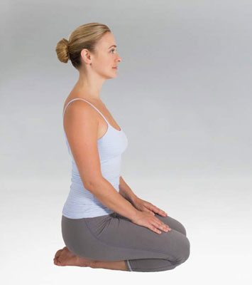 How To Do The Yoga Thunderbolt Posture Vajrasana Dummies