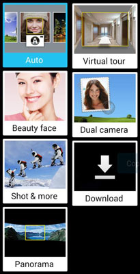 Basics of the Samsung Galaxy S 5's Camera Mode Settings