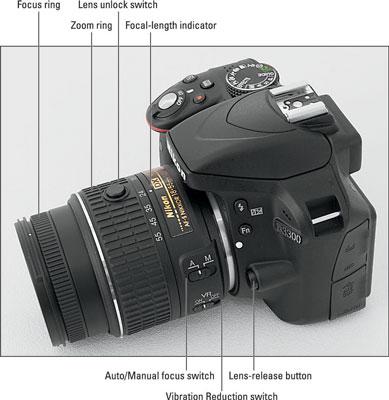 The Nikon D3300 Camera Lens - dummies