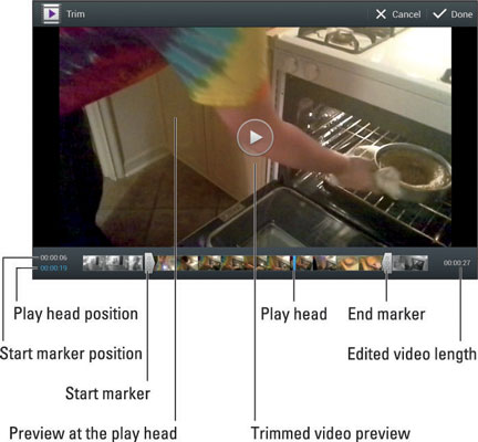 How to Trim a Video on Your Android Tablet - dummies