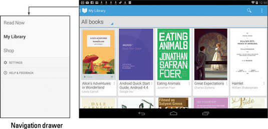 How to Use Google Play Books on Your Android Tablet - dummies