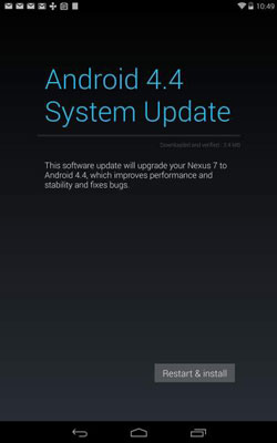 How to Update Your Android Tablet System - dummies