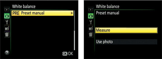 how to create white balance presets on the nikon d3300. Black Bedroom Furniture Sets. Home Design Ideas