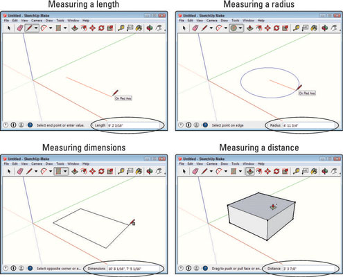 google sketchup make rectangle specific size