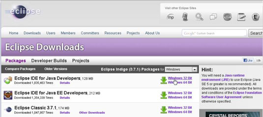 How to Set Up the Eclipse Integrated Development Environment for