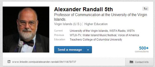 [Credit: Permission: Dr. Alexander Randall, 5th, Professor of Digital Media Communication, Universi