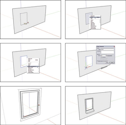image0.jpg  sc 1 st  Dummies.com & How to Make Your Own Doors and Windows on SketchUp - dummies