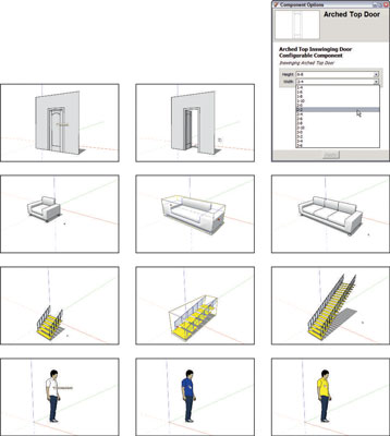 Dynamic Components in SketchUp - dummies