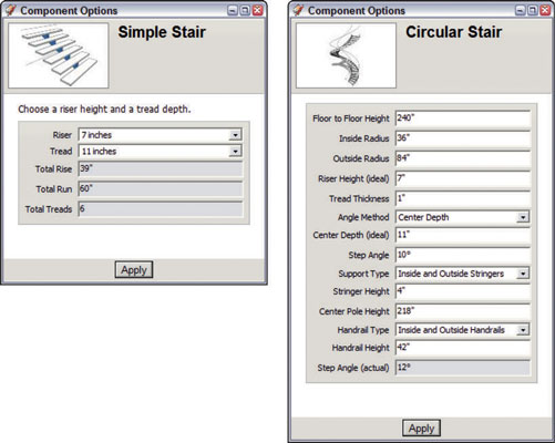 SketchUp's Component Options Dialog Box - dummies