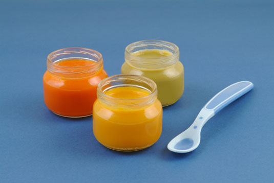 Baby-food purees