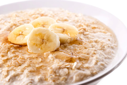 Image result for banana and oatmeal porridge pic