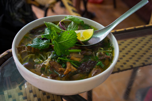 Vietnamese Beef Breakfast Soup