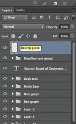 Use folders to keep work organized.