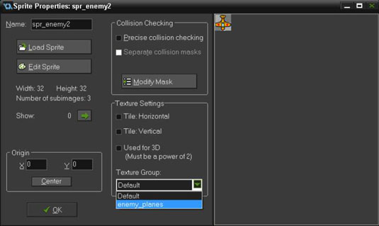 How to Use Texture Settings in GameMaker: Studio - dummies