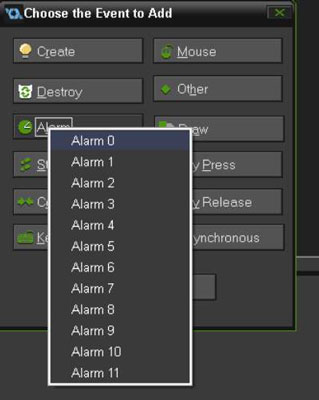 You can have up to 12 Alarms for each Instance.