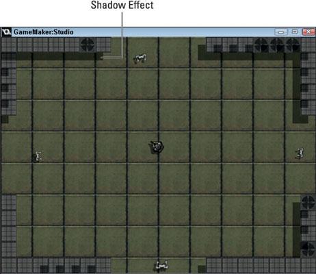 A basic shadow effect.