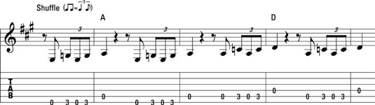 How to Play Blues on the Guitar with a Basic Single-Note