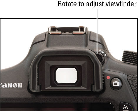 How to Use the Topside Controls on the Canon Rebel T5/1200D