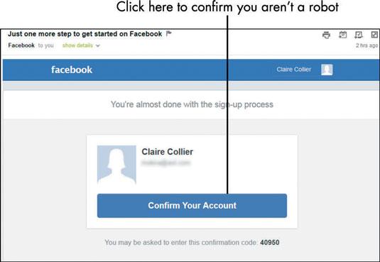 Account to facebook your com www verify Your Step