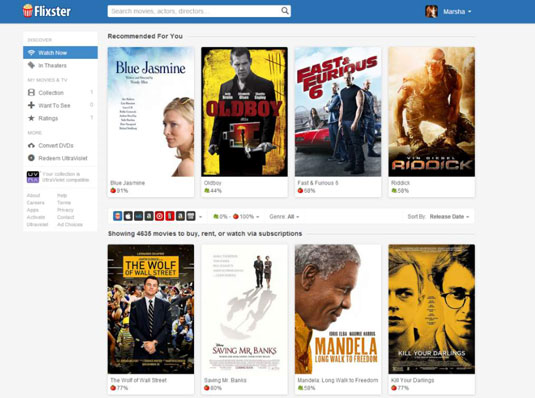 How to Find a Good Movie on Flixster - dummies