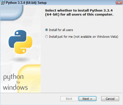 How to Install Python on a Windows System - dummies