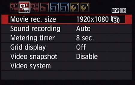 How to Use Advance Movie Settings on the Canon Rebel T5