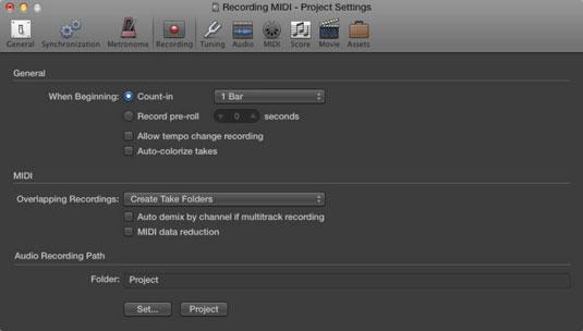 Recording Multiple MIDI Takes in Logic Pro X Cycle Mode