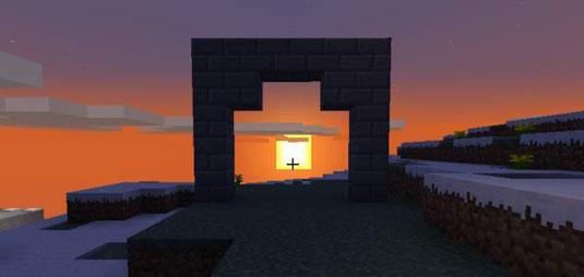 adding an archway on your garden path in minecraft