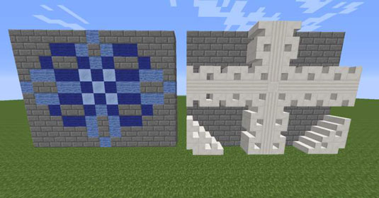 How To Customize Floors Roofs And Walls For Your Minecraft Construction Dummies