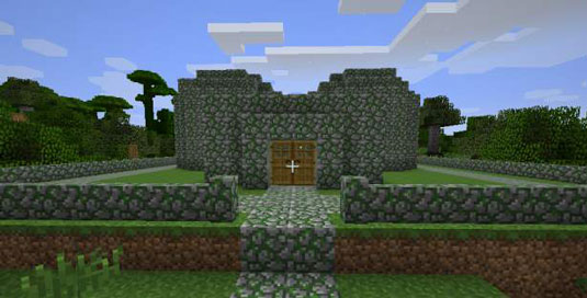 How To Make Moss Stone Stairs In Minecraft Photos Freezer And