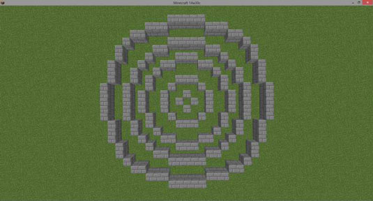 How to Build Circles and Spheres in Minecraft - dummies