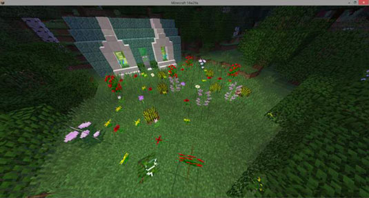 Build Your First Minecraft Garden