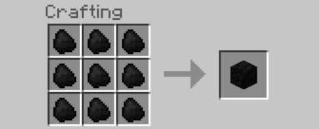 ore block recipe minecraft