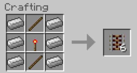 Crafting Recipe For Activator Rail