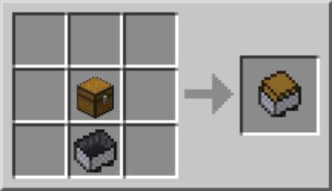 storage minecart in minecraft