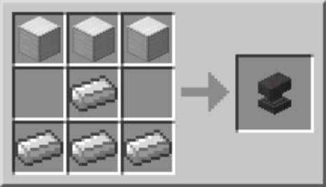 How To Craft On An Anvil In Minecraft Dummies