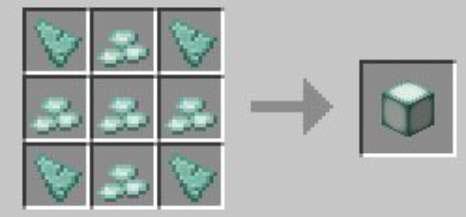 how to make sea lanterns in minecraft