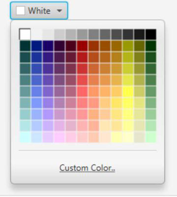 A color picker in JavaFX.