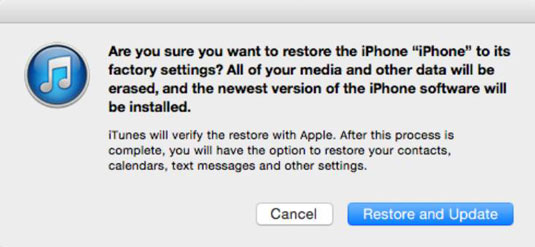 How to Put Your iPhone in Device Firmware Upgrade Mode - dummies
